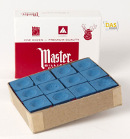 Master doosje 12 krijtjes  blauw