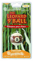 57 mm the leopard 9 ball made by Aramith ®