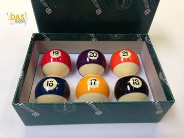 Aramith pool ballen 57.2 mm 'Baseball' nr. 16-21
