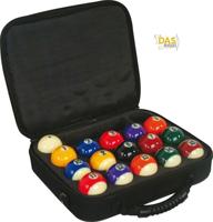 Aramith Pool ballen Premium 57.2 in nylon tas
