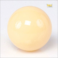 bal wit (Maat: magneetbal wit - 57.2mm)
