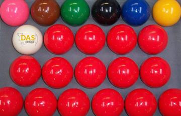 snooker ballen 52.4 mm universeel