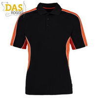 Poloshirt Gamegear Cooltex Active 938 Black Orange