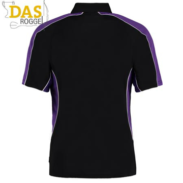 Picture of Poloshirt Gamegear Cooltex Active 938 Black Purple