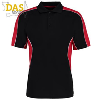 Poloshirt Gamegear Cooltex Active 938 Black Red