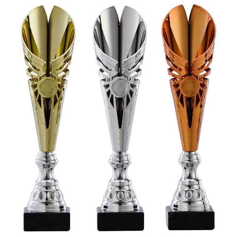 Afbeelding van Sportprijzen Standaard A1100 Goud-Zilver-Brons